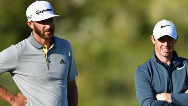 Dustin Johnson Rory McIlroy