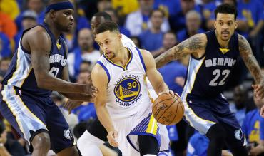 NBA Playoffs: Golden State Warriors in action